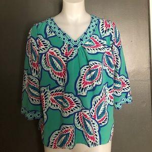 Crown & Ivy  women 2x blouse